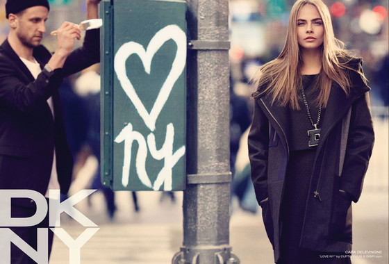 Cara Delevingne, DKNY