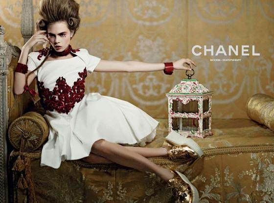 Cara Delevingne, Chanel