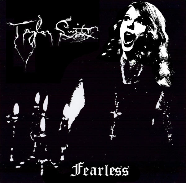 Taylor Swift Black Metal
