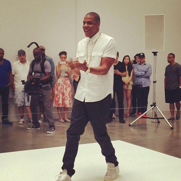Jay Z, Instagram