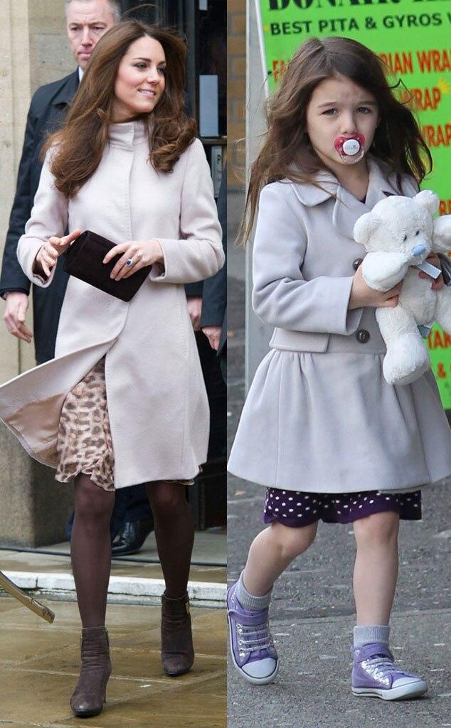 Kate Middleton, Duchess Catherine, Suri Cruise