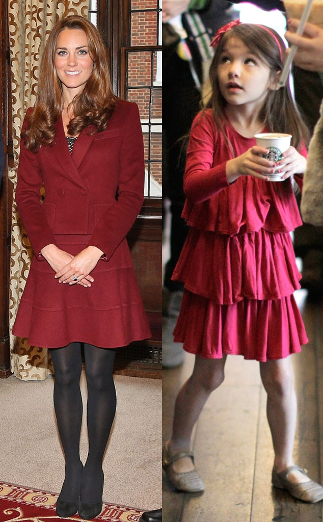 Kate Middleton, Catherine, Duchess of Cambridge, Suri Cruise
