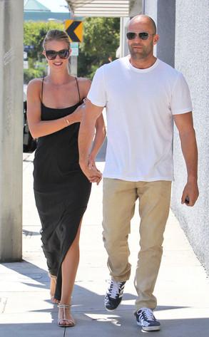 Jason Statham, Rosie Huntington Whitely