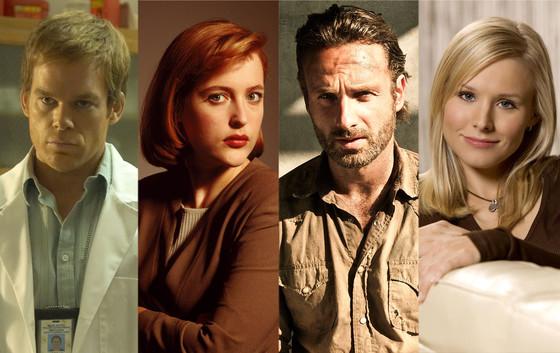 Comic Con, Michael C. Hall, Gillian Anderson, Andrew Lincoln, Kristen Bell