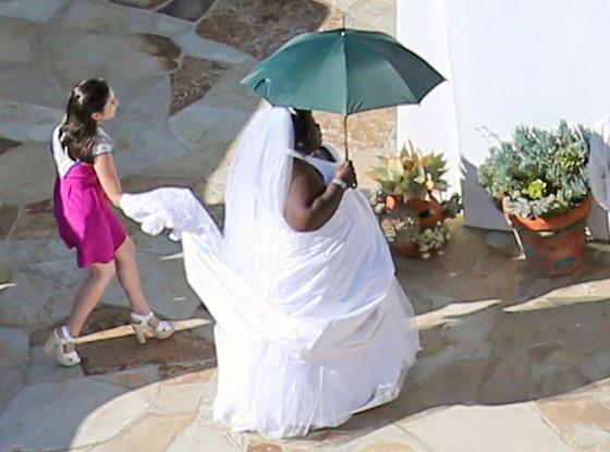 Jimmy Kimmel Wedding, Gabourey Sidibe