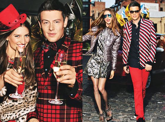 A Look Back at Cory Monteith's Model Moment for Self Magazine—See the Pics, Plus Behind-the-Scenes Footage at Cover Shoot