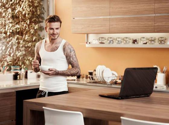 David Beckham, Sky