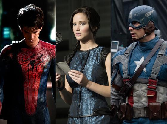 Comic Con, Andrew Garfield, Jennifer Lawrence, Chris Evans