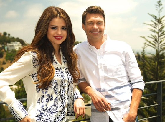 Selena gomez at ryan seacrest dating