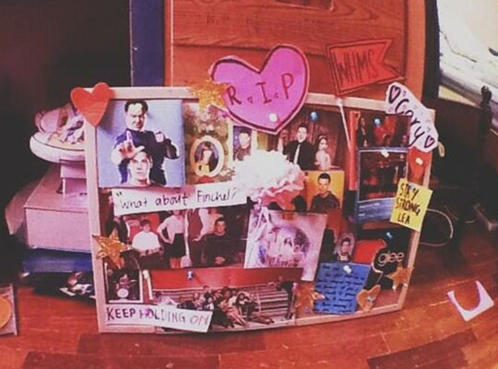 Cory Monteith Tributes