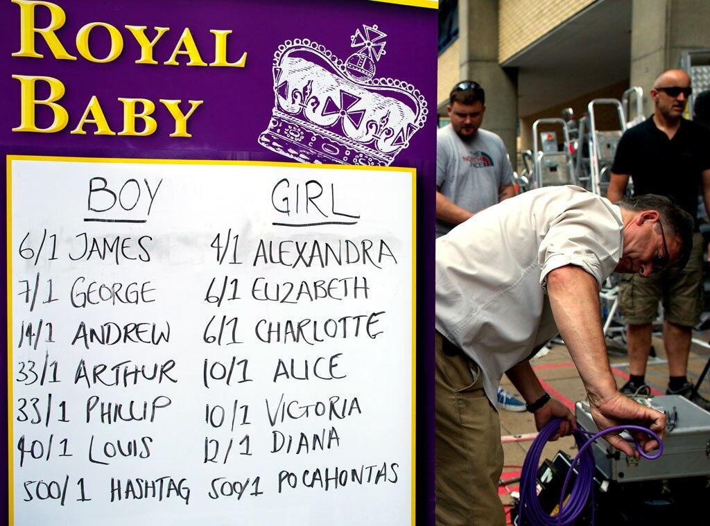 Media Frenzy, St. Marys, Lindo Wing, Prince William, Duchess Catherine, Kate Middleton