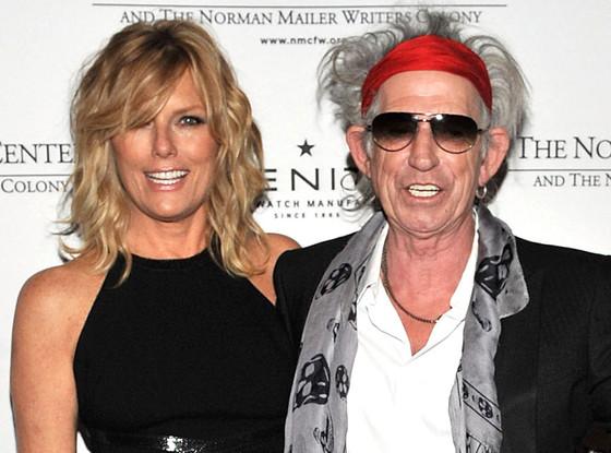 Keith Richards, Patti Hansen