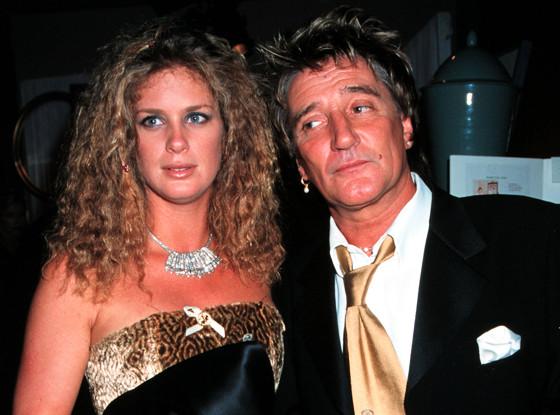 Rachel Hunter, Rod Stewart