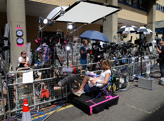 Media Frenzy, St. Marys, Lindo Wing, Prince William, Duchess Catherine, Kate Middleton