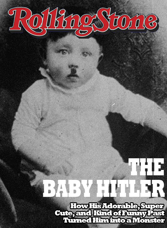Baby Hitler Rolling Stone Cover