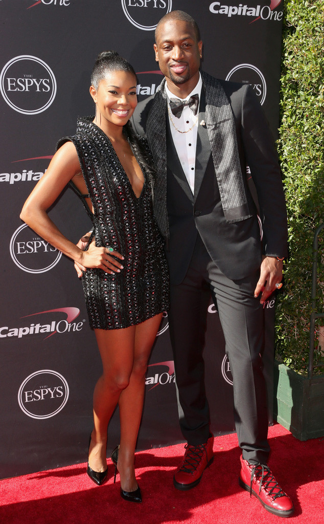 Gabrielle Union, Dwyane Wade, ESPY Awards