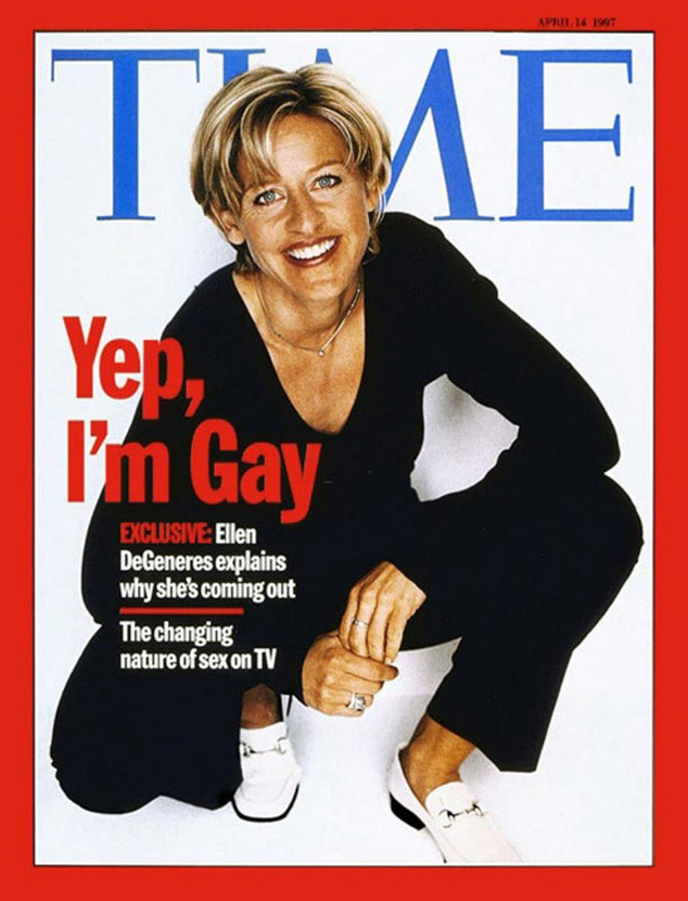 Ellen DeGeneres Came Out in Time 20 Years Ago Today: How She's Paved the Way for Others