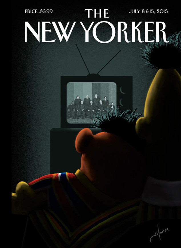 Bert and Ernie, The New Yorker