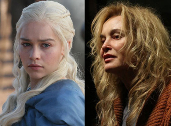 Game of Thrones, Emilia Clarke, Jessica Lange, AMERICAN HORROR STORY