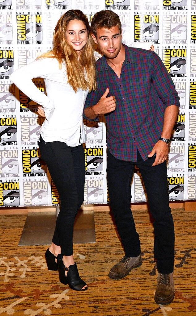 Shailene Woodley, Theo James, Comic-Con