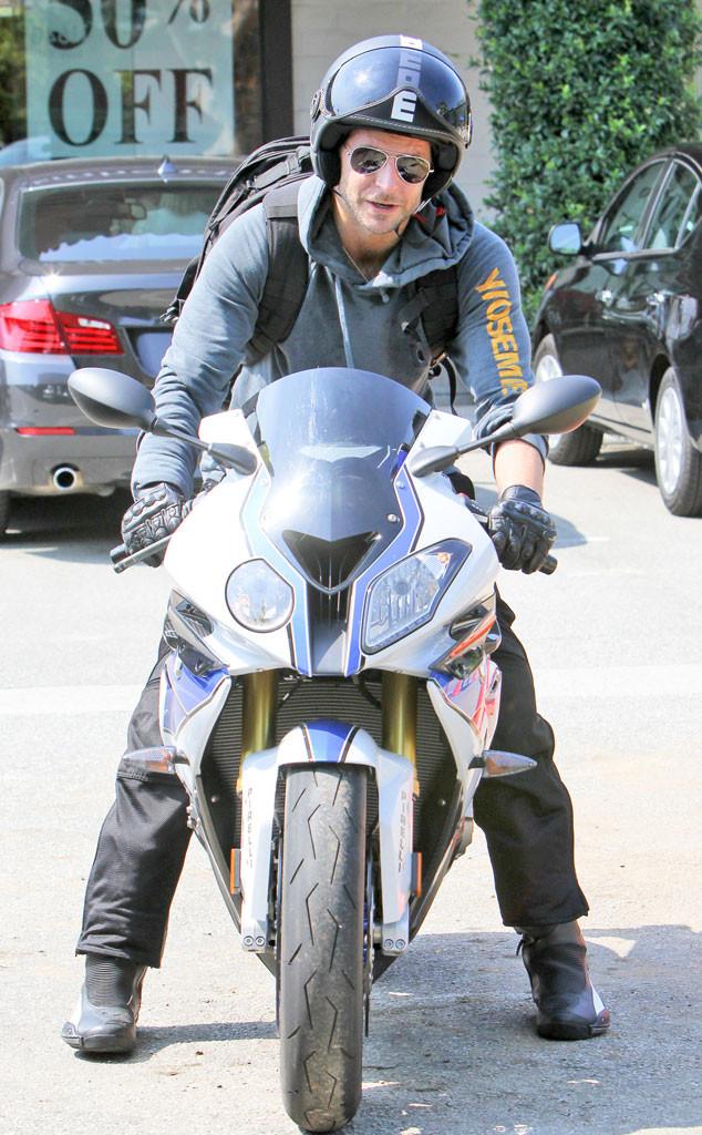 Bradley Cooper, Motorcycle