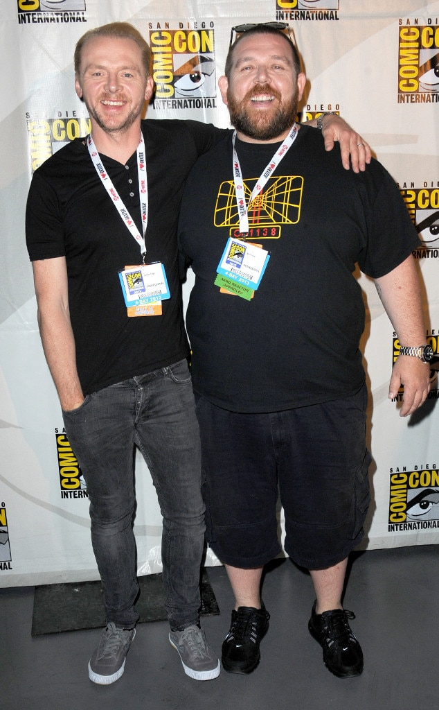 Simon Pegg, Nick Frost, Comic-Con