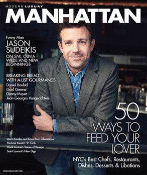 Jason Sudeikis, Manhattan Magazine