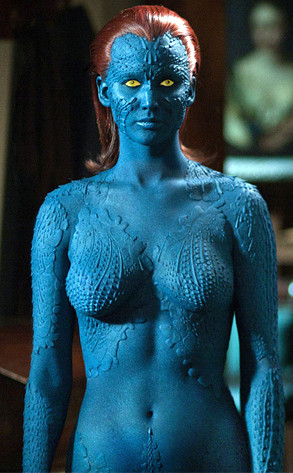 Mystique, Jennifer Lawrence, X Men, Hottest Superheroes
