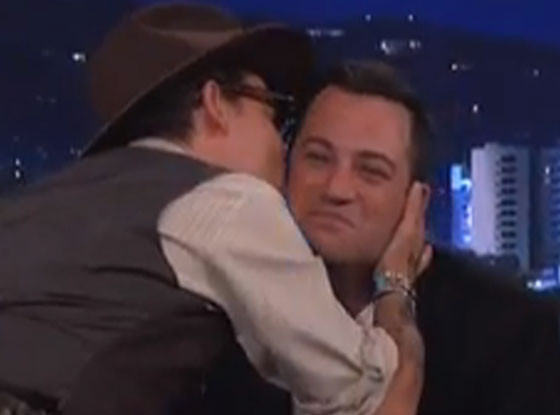Johnny Depp, Jimmy Kimmel