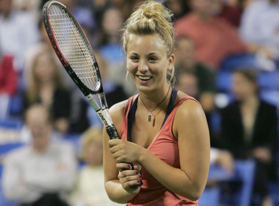 Kaley Cuoco, Tennis