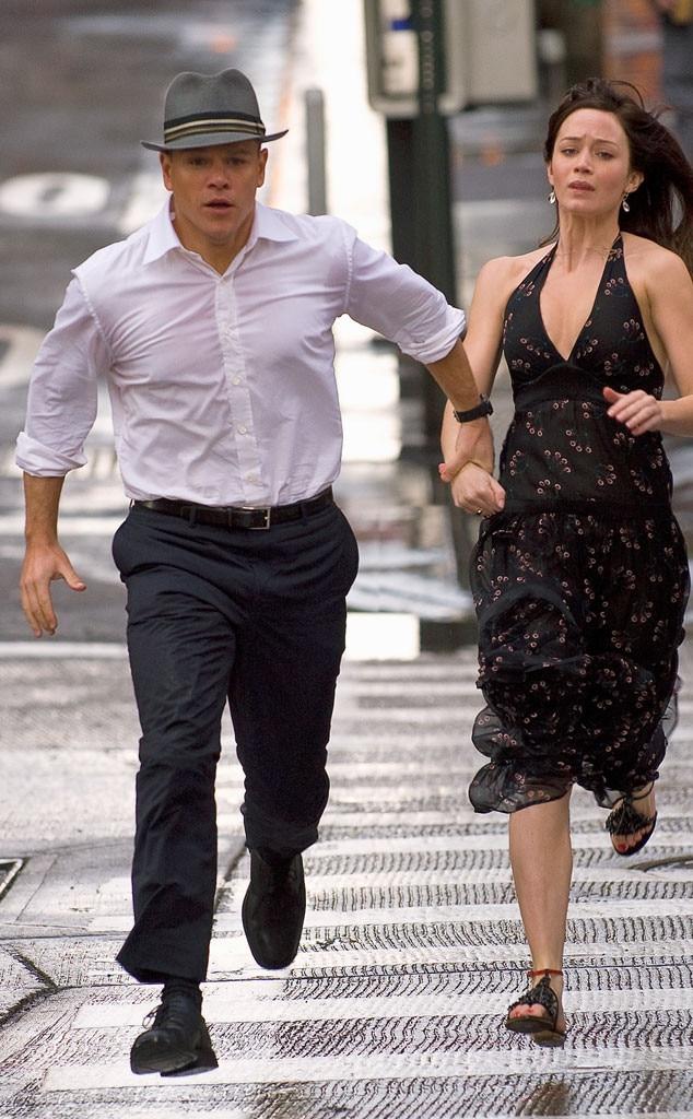Matt Damon, Emily Blunt, The Adjustment Bureau