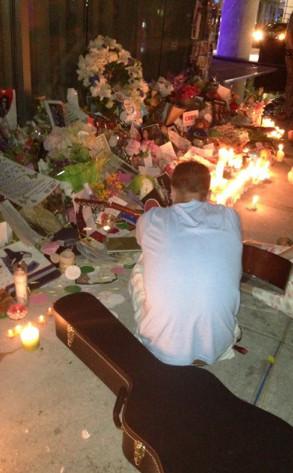 Richard Monteith, Cory Monteith, Vancouver Memorial