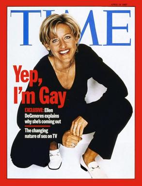 Time, portada, Ellen DeGeneres