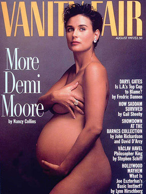 vanity fair, demi moore