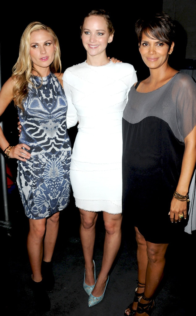 Anna Paquin, Jennifer Lawrence, Halle Berry