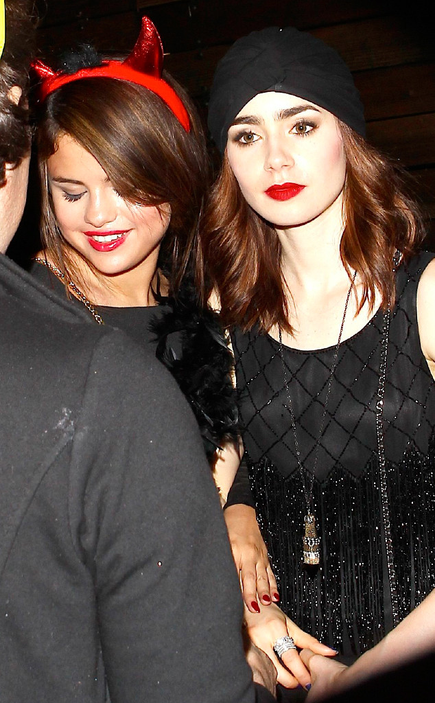 Selena Gomez, Lily Collins