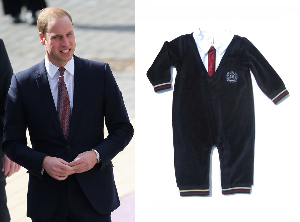 Prince William, Daddy & Me Style