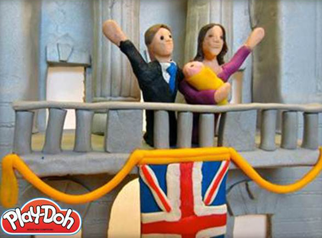 Play Doh, Kate Middleton, Prince William