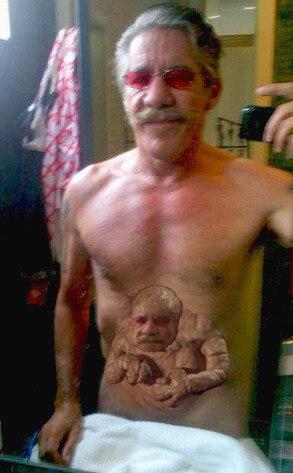 Geraldo Shirtless (with baby)