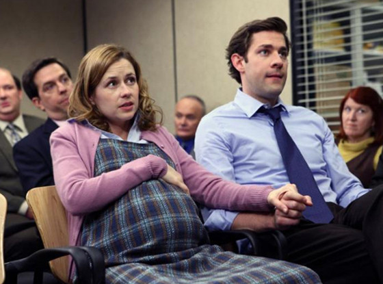 Jenna Fischer, John Krasinski, The Office
