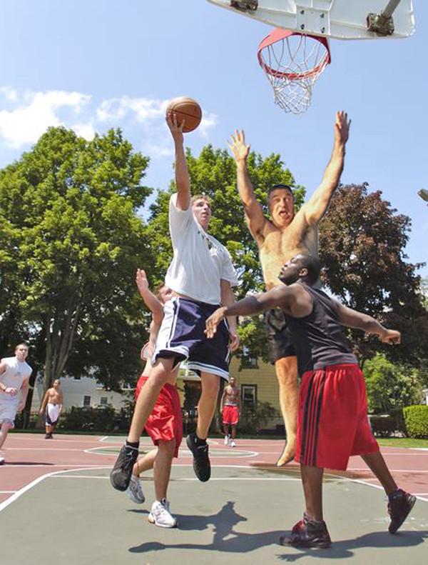 Basketball Alec Baldwin
