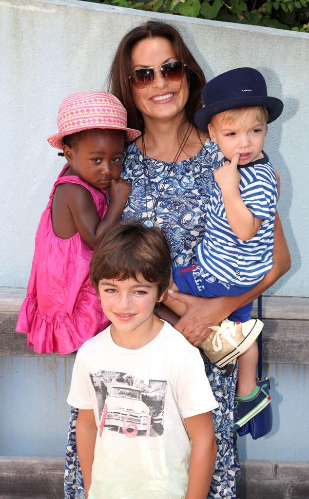 Mariska Hargitay, Kids