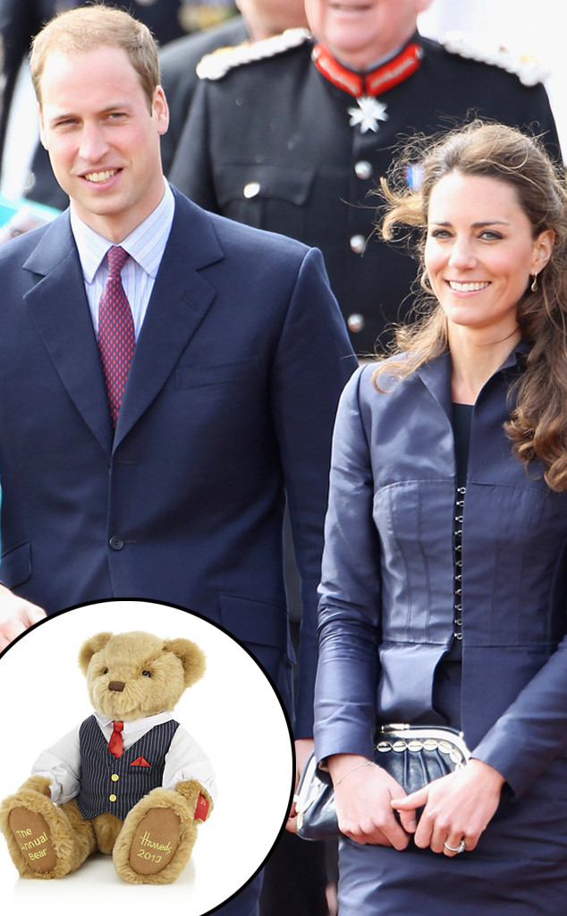 Prince William, Kate Middleton, Harrods Teddy Bear, Push Presents