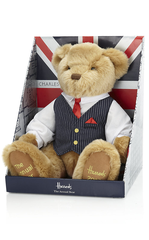 Prince William, Kate Middleton, Harrods Teddy Bear