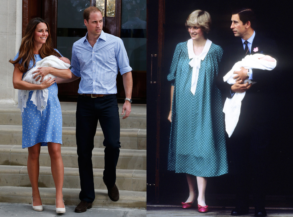 Royal Baby, Kate Middleton, Catherine, Duchess of Cambridge, Prince William, Princess Diana, Prince Charles