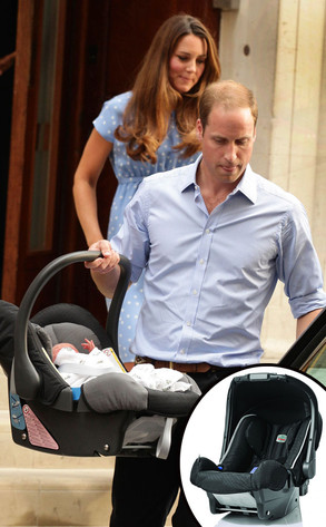 The Royal Baby\'s Car Seat and Swaddle—All the Details! | E! News