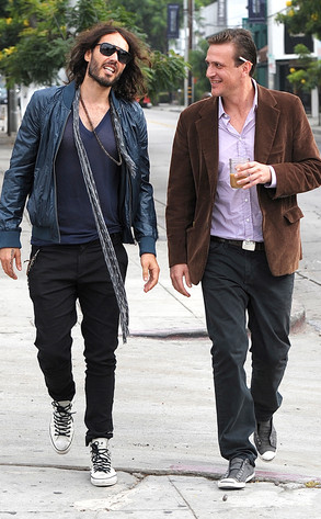 Russell Brand and Jason Segel