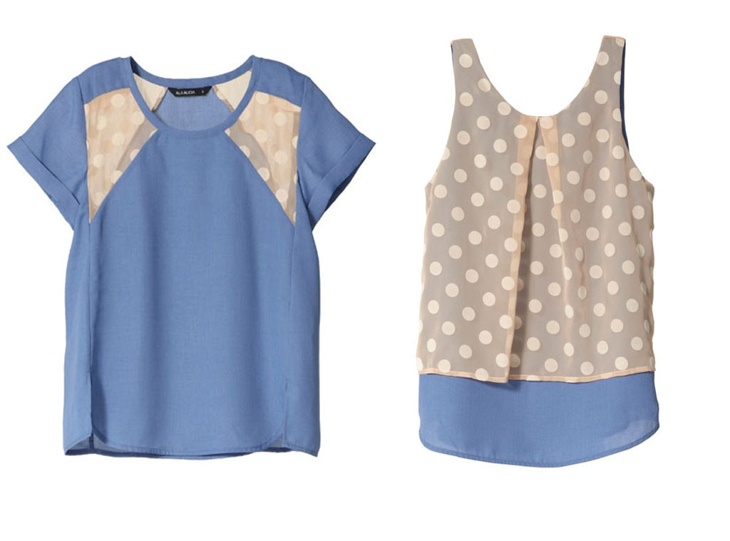Polka Dot, Al & Alicia Tops
