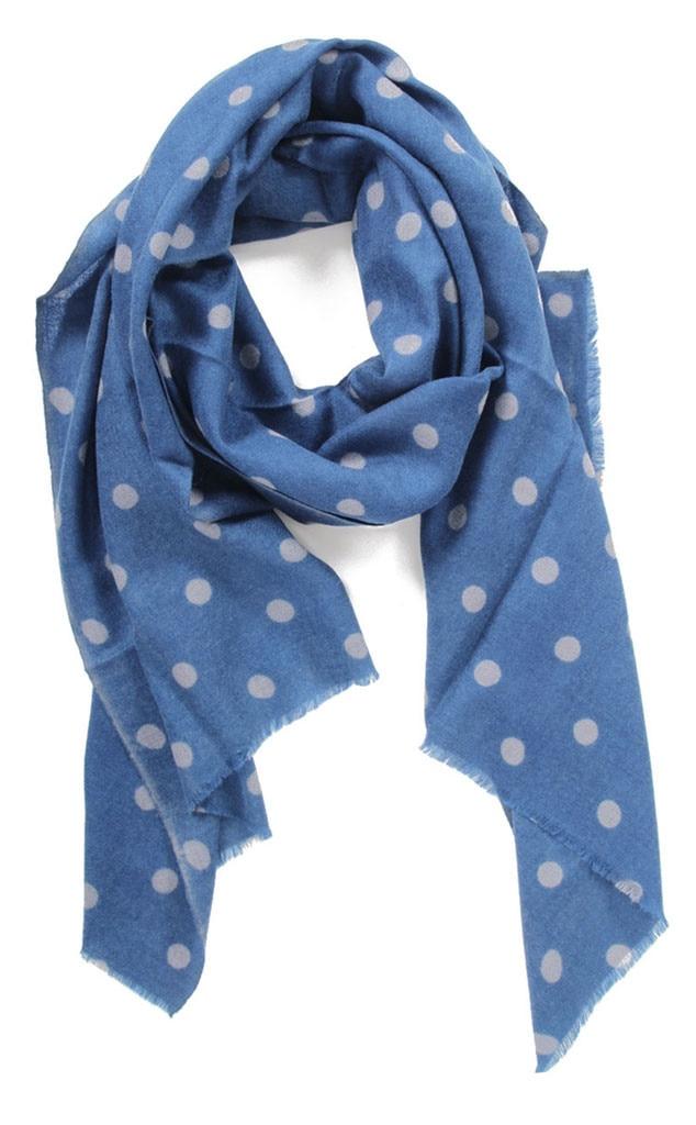 Polka Dot, Meg Cohen scarf
