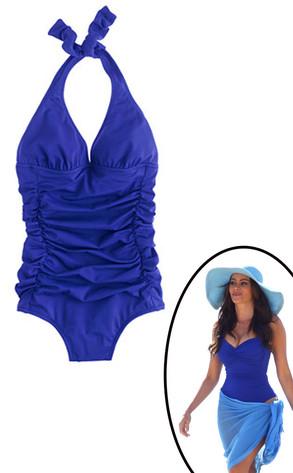 Sofia Vergara, J Crew Curvy Bathing Suit